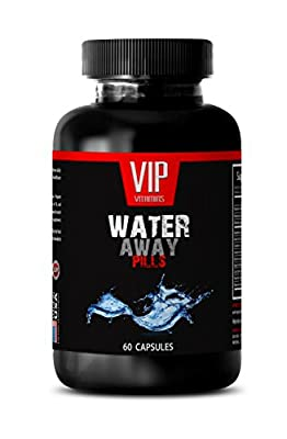Stomach care - WATER AWAY DIURETIC PILLS - Paprika, Potassium, Dandelion, Watermelon - 1 Bottle 60 Capsules