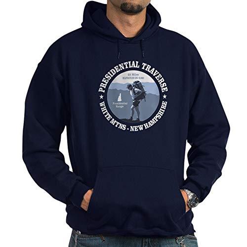 CafePress Presidential Traverse Hoodie Pullover Hoodie, Classic & Comfortable Hooded Sweatshirt Navy