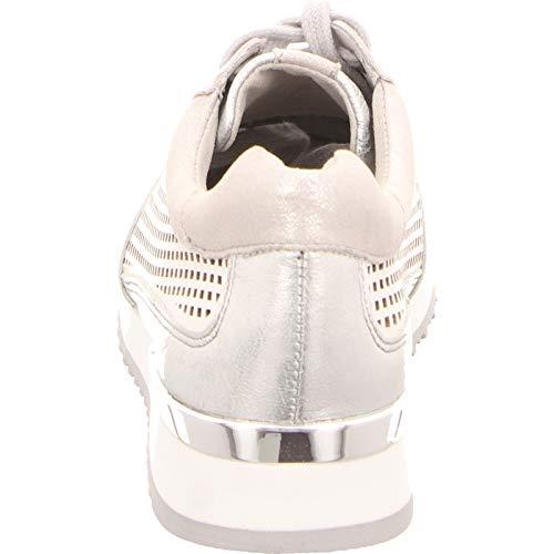 Femme De À Multi Ville Caprice Silver Pour Lacets Chaussures FAH1n1