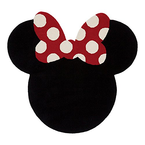 (Ethan Allen | Disney I See Minnie Mouse Rug, 5' x 5', Mickey's Ears)