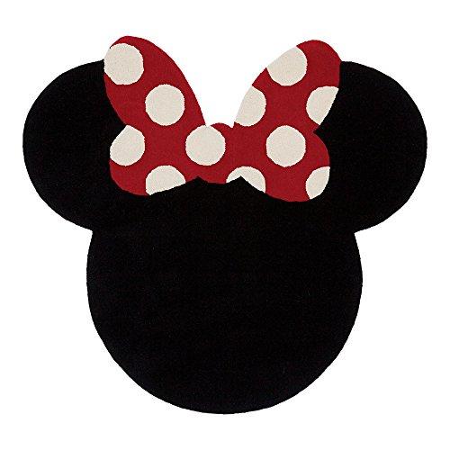 Ethan Allen | Disney I See Minnie Mouse Rug, 5' x 5', Mickey's Ears -
