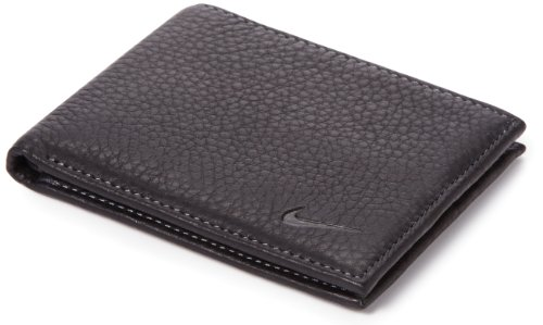 Nike-Mens-Passcase-Pebble-Grain-Leather-Wallet