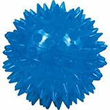 "Gnawsome Squeak and Light Ball Dog Toy, Medium 3.5"", Colors will vary"