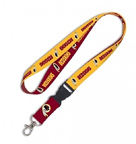Washington Redskins Nfl Lanyard (NFL Washington Redskins Lanyard With Detachable buckle)