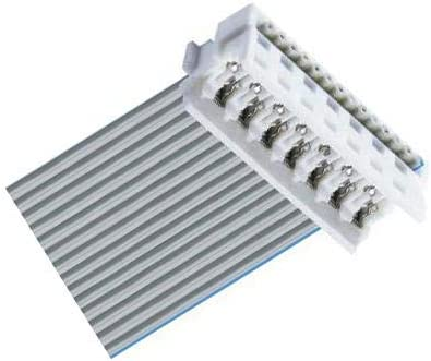 Wire-To-Board Connector Micromodul Series 1.27 mm Pack of 10 MICA06 1 Rows MICA06 6 Contacts IDC//IDT Receptacle