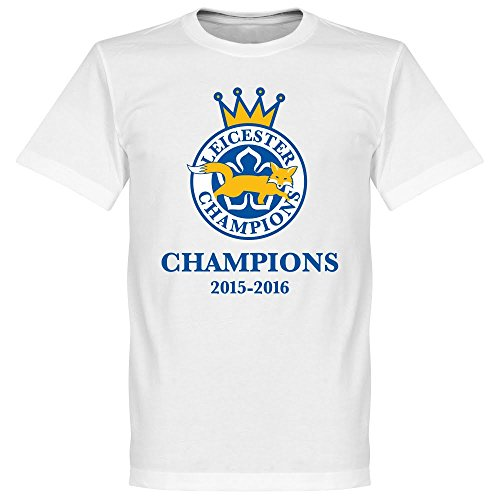 Leicester Champions Huth 6 T-shirt - weiss