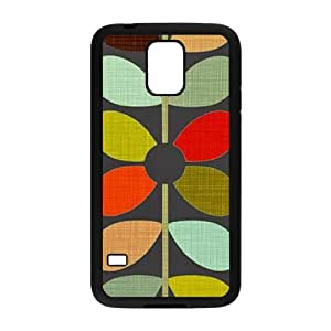 ZXCV Creative Grain Leaves Fahionable And Popular Back Case Cover For Samsung Galaxy S5