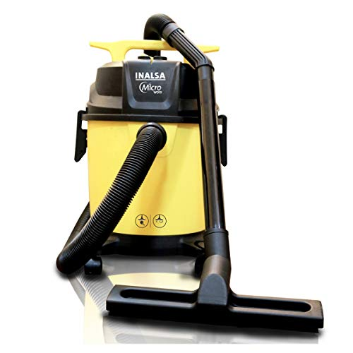 INALSA Vacuum Cleaner Wet & Dry Micro WD10-1000W with 3in1 Multifunction Wet/Dry/Blowing  14KPA...