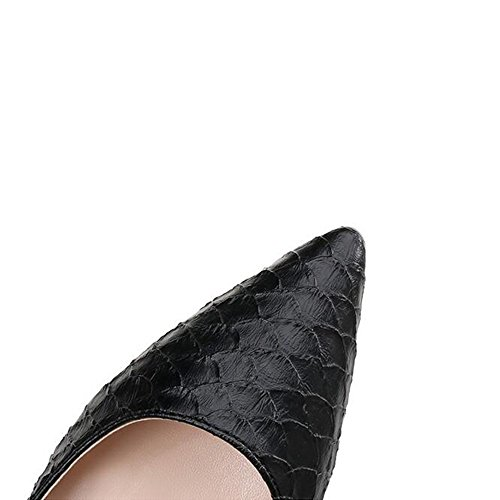 H&H® Chaussures À Talons Tous Dur Documentaire Avec Des Chaussures Noires Automne Petite Bouche De Profession Trente - Quatre [6 Cm] Noir D3X5TjutMk