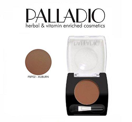 3 Pack Palladio Beauty Brow Powder 02 Auburn