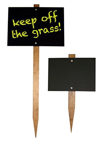 A3 Garden Stake Chalkboard 420 X 300mm Blackboard 1000mm Stake