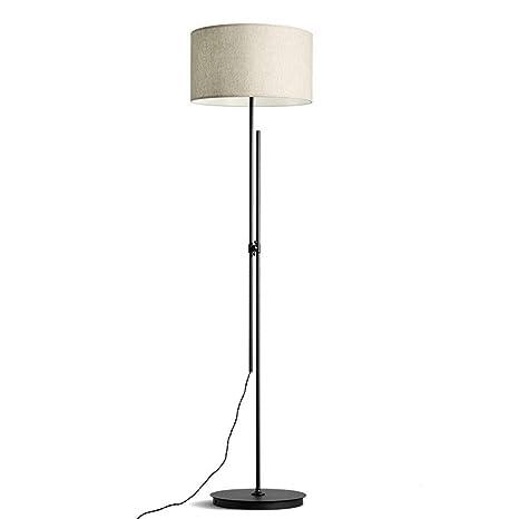 Lámparas de pie Tela moderna creativa estilo nórdico lámpara de ...