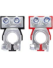 BESPORTBLE 1 Pair Battery Terminal Clamps Thickened Battery Connector Terminals Battery Terminal Ends