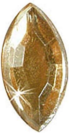 KREUL 49613 - Piedras Preciosas para el diseño de Accesorios de Moda y para el diseño en el ámbito de decoración del hogar, 150 Piedras de Colores, Hojas