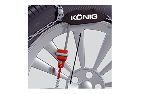 KÖNIG CG-9 104 – Chaînes à Neige, Set de 2