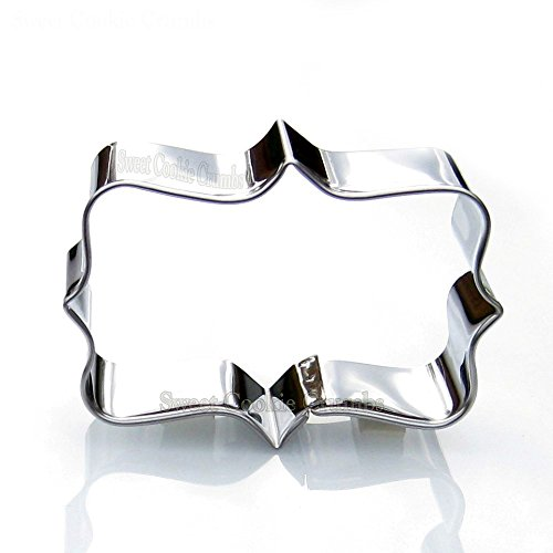 Rectangle Frame Cookie Cutter - Stainless Steel