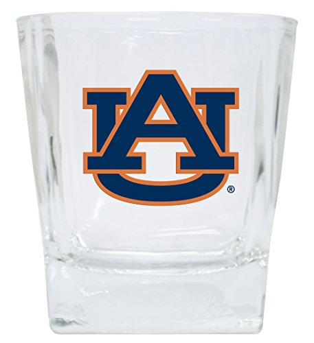 AUBURN TIGERS 12OZ SHORT GLASS SET-AUBURN DRINK GLASSES-SET OF - Glass Tigers Auburn