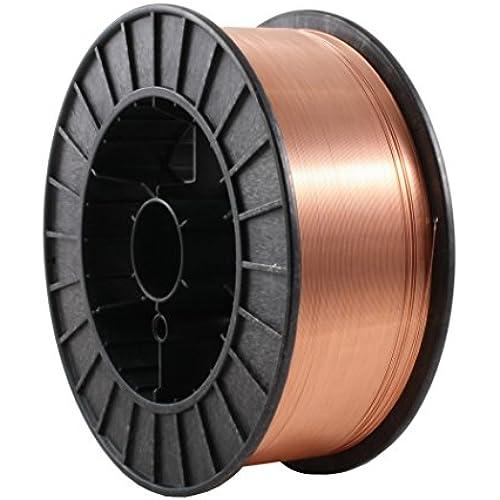 Buy ER70S-6 - MIG Mild & Low Alloy Steel Welding Wire - 33 Lb x 0.035