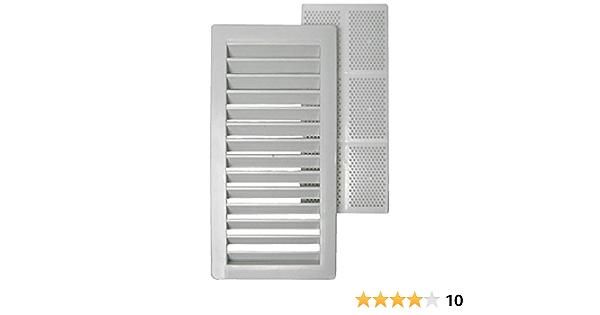 Rejilla de ventilación (13 x 26 cm, Plástico) | BAUHAUS