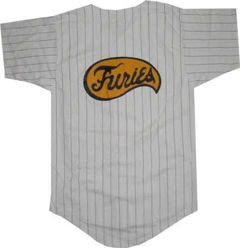 [The Warriors Furies Pinstriped Baseball Jersey Costume (Mens Medium)] (Warrior Man Costumes)
