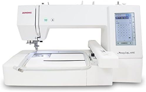 Janome Memory Craft 400E máquina de bordado: Amazon.es: Hogar