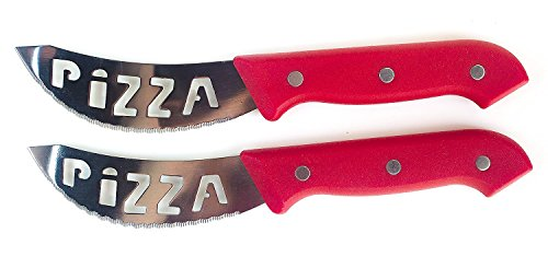 Brandobay Stainless Steel Pizza Knives Set