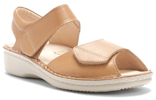 Finn Comfort Women's Faro Sandal B0016G3FT0 42 EU (US Women's 11 M)|Cotton Selina