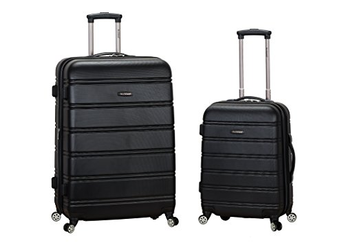- Rockland Luggage 20 Inch and 28 Inch 2 Piece Expandable Spinner Set, Black, One Size