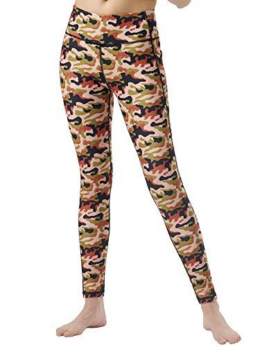Zeronic High Waist Yoga Pants for Women with Pockets Tummy Control Workout Leggings for Women 4 Way Stretch Yoga Leggings