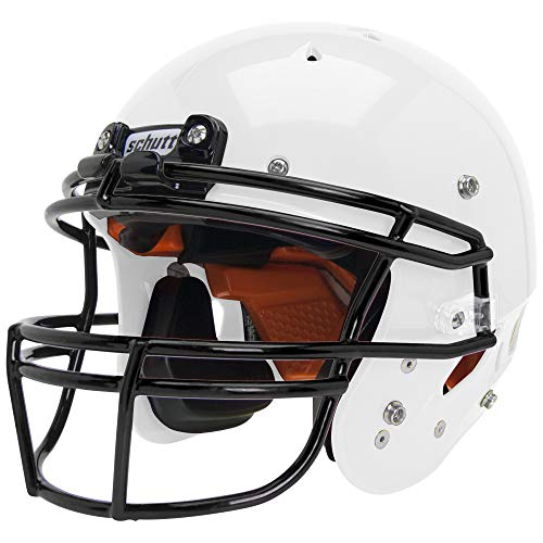 Schutt Recruit Hybrid Youth Football Helmet, W/DNA OPO YF GY, Large (Football Helmet For Adults)