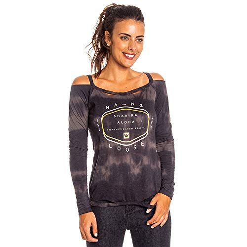 Blusa Sophisticated Feminino Hang Loose Preto - P