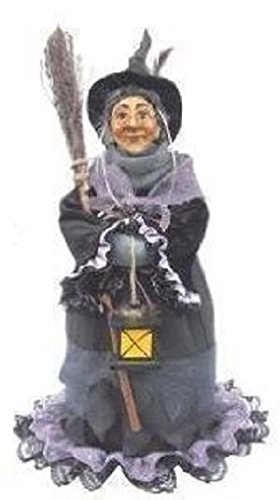Witches of Pendle - Hazel Standing Witch (Purple) 50cm (Standing Witch)