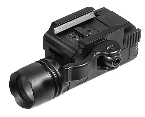 (UTG 90 lumen Compact LED Pistol Light, 16mm Head, QD Mount)