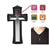 Aikes Security Camera Cross Neckless Camcorder Mini DVR Digital Home Security Video Recorder 16GB