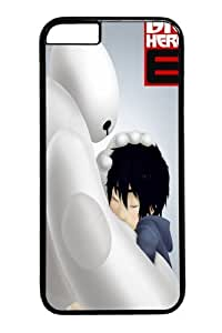 Bay Max Big Hero 6 Hiro And 42 Custom iPhone 6 4.7 inch Case Cover Polycarbonate Black