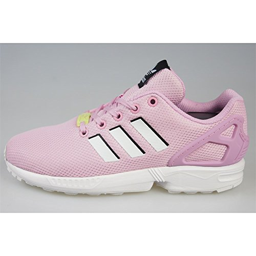 Adidas ZX Flux J - BY9826 - Color Pink-White - Size: 5.0 by adidas