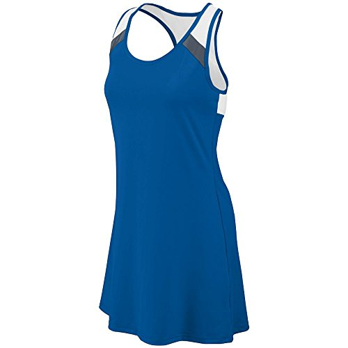 Augusta Sportswear Deuce Dress 2XL Royal/Graphite/White