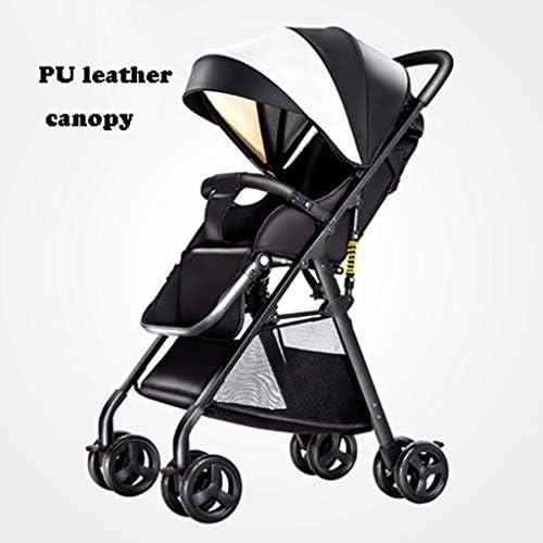 ベビーカー360回転機能は、新生児、耐久性のある構造、マルチポジションリクライニングシート、簡単に折ると旅行のためのキャリッジをアップグレード(グレー) (Color : Style 1)