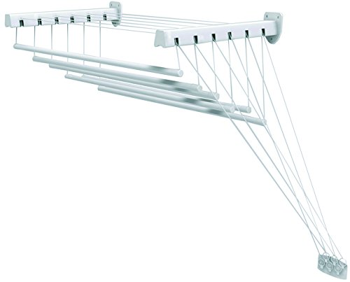 GIMI Lift 140 Wall and ceiling-mounted clothes dryer in stee