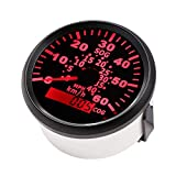 CT-CARID 85mm GPS Speedometer Meter 60km/h Speed Indicators Gauge COG Waterproof with Backlight for Marine Boat Motorcycle Auto Truck 9-32V