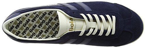 Gola Heren Kogel Suede Mode Sneaker Navy / Marine / Off-white