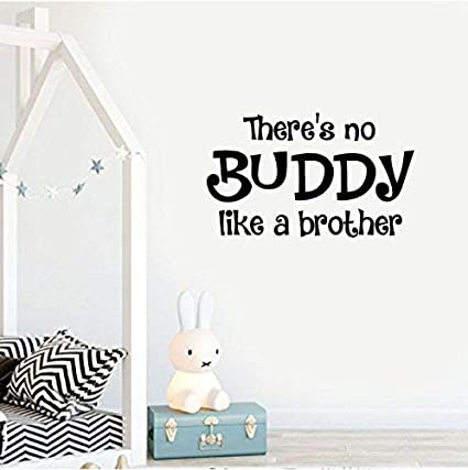 Amazon.com: There\'s No Buddy Like A Brother Quote Love ...