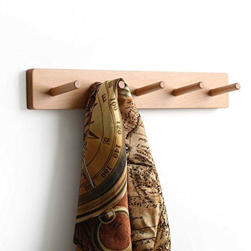 GSHWJS Fashion Creative Beech Hanger Multi-Function Clothes Hook ()