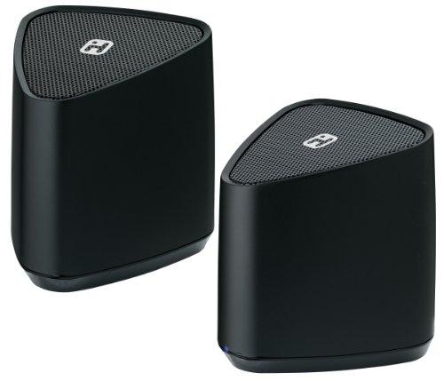iHome iBT88BC Bluetooth Rechargeable Mini Stereo Speaker (Ihome Stereo Mini Speakers)