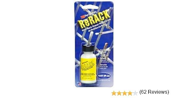 Performix Rerack Vinyl Rack Repair White 1 Fl.Oz. by Plasti-Dip ...