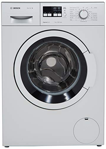 Bosch 7 kg Fully-Automatic Front Loading Washing Machine (WAK24164IN, Silver, Inbuilt Heater) Discounts Junction