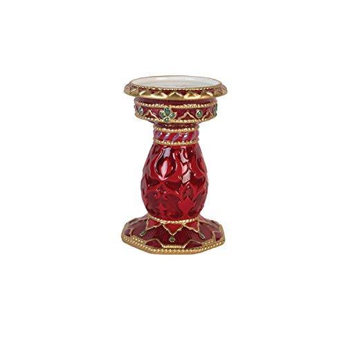 Fitz and Floyd 49-663 Renaissance Holiday Candleholder, Pillar