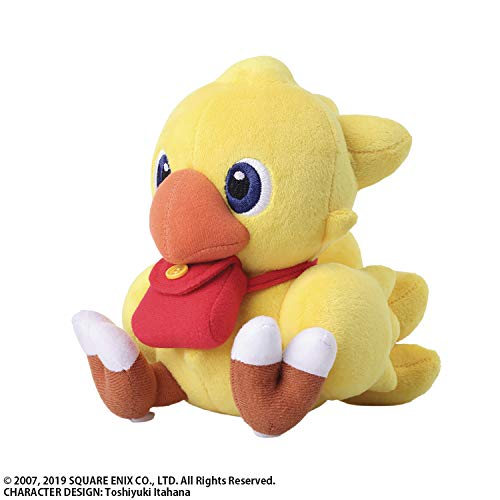 Square Enix Chocobo's Mystery Dungeon Every Buddy!: Chocobo (Freelancer Version) Plush, - Plush Chocobo