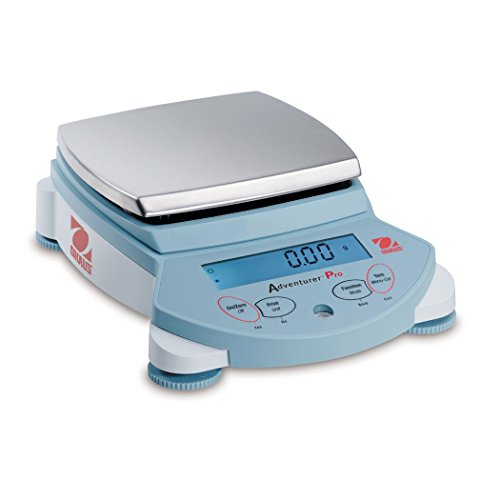 Pro Precision Laboratory Balance (Ohaus Adventurer Pro AV2101 Precision Balance without InCal Internal Calibration, 2100g Capacity, Stabilization Time 2 Seconds, 0.1g Readability, 0.1g Repeatability)