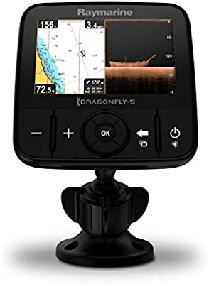 Trazador Gráfico Raymarine E70295-Canz Dragonfly5M GPS con C-Map ...